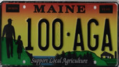 Maine's Agriculture Specialty Plate