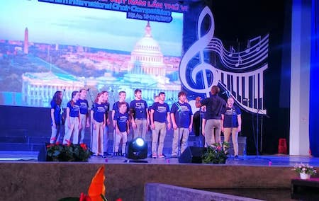 Chamber Singers perform at Vietnam International Choir Festival