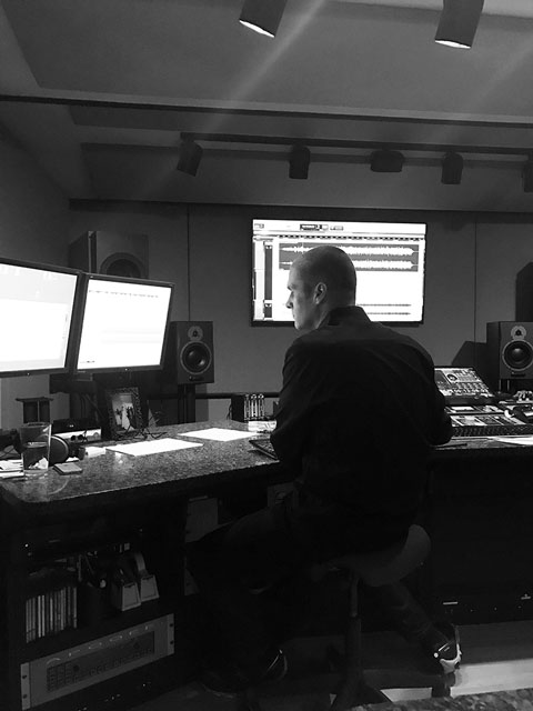 Adam Ayan at Gateway Mastering studio