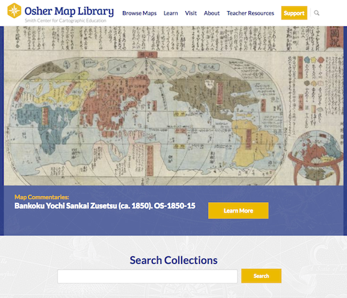Image from Osher Map Library website