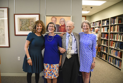 Osher family with Judy Glickman