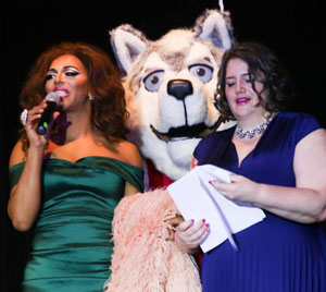"Drag Show - Shangela, ""Champ"" and Sarah Holmes"