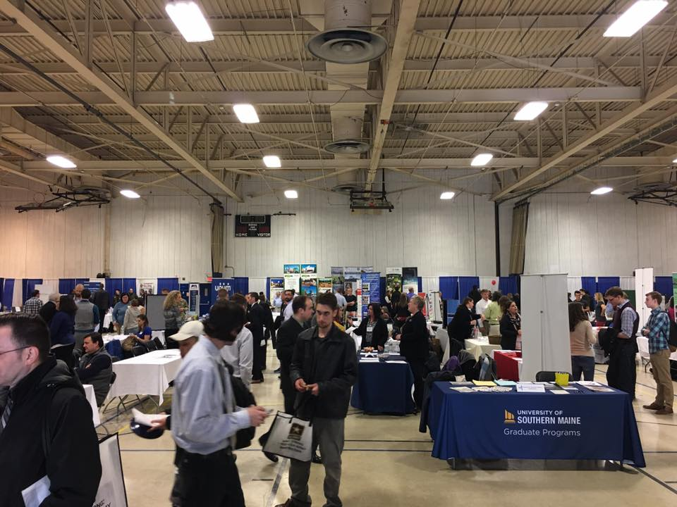Sullivan Gym with job fair