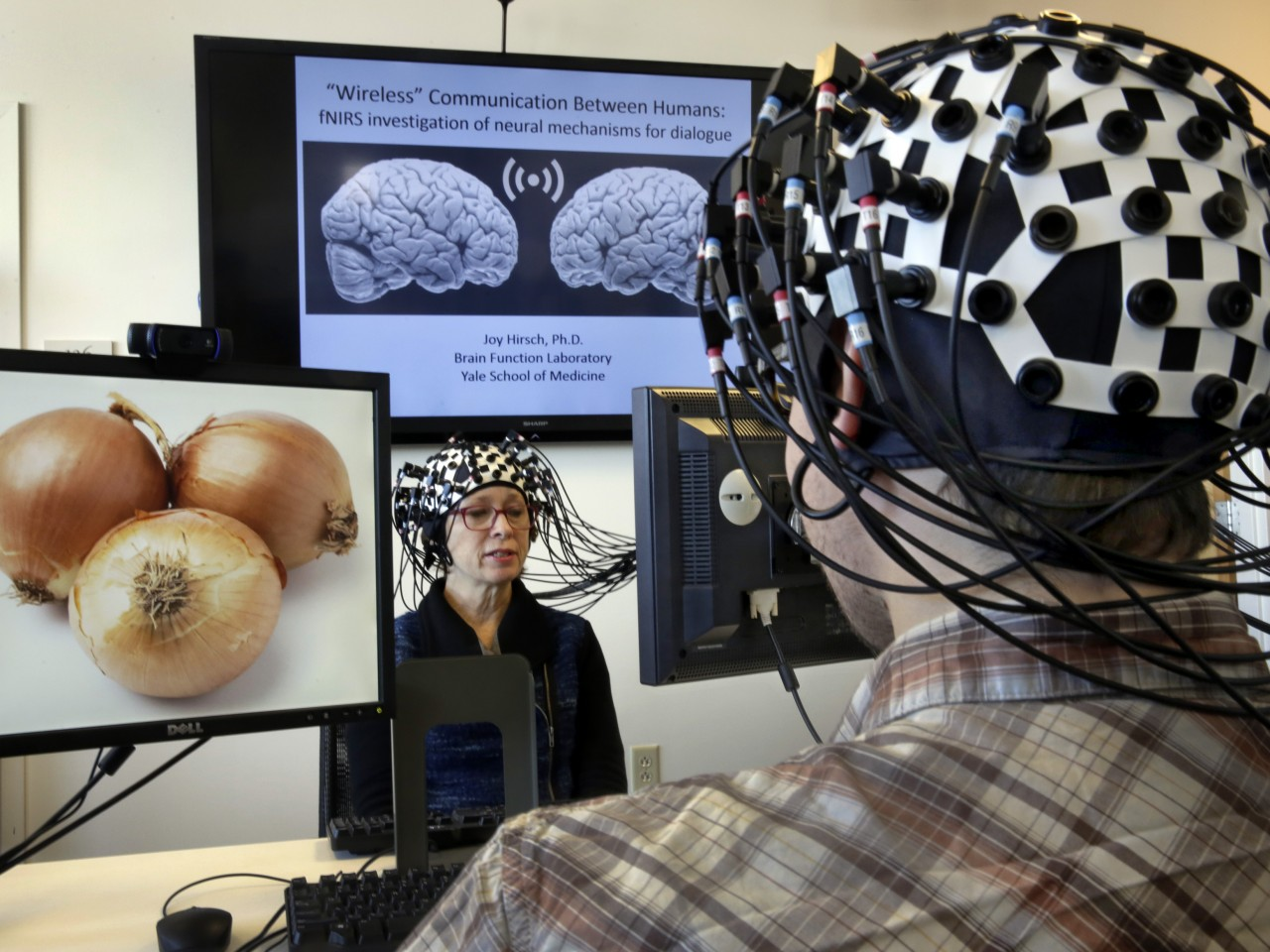 Image of researching the brain