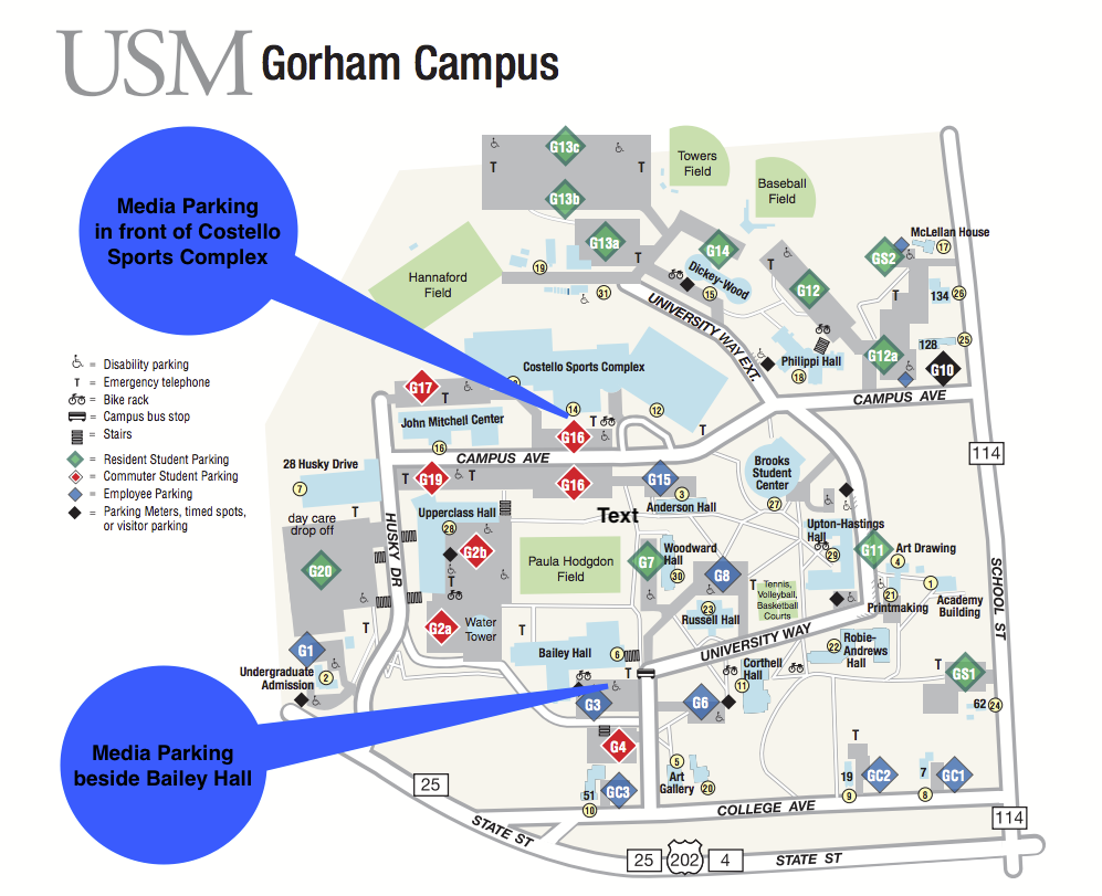 university of southern maine portland campus map August 27 2019 University Of Southern Maine Welcomes New university of southern maine portland campus map