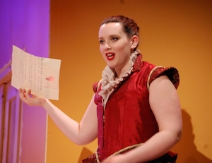 "Image of Rachel Shukan in ""The Merry Wives of Windsor"""