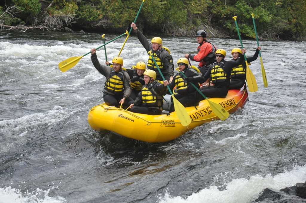 ROCC Peers, White Water Rafting