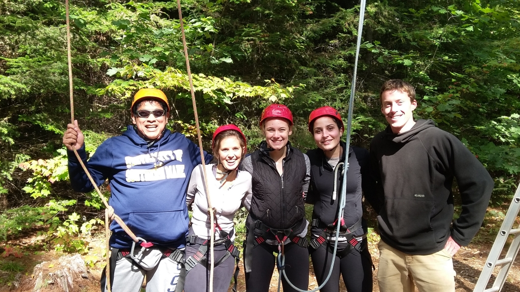 ROCC Stars during Ropes Course