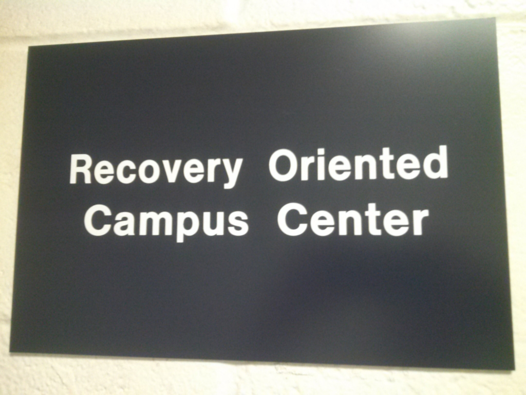 Recovery Oriented Campus Center has a home at USM
