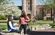 Spring 2016 Students on Campus