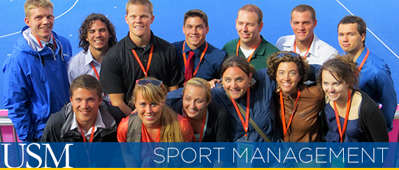 Sport Management students at the 2012 Olympics