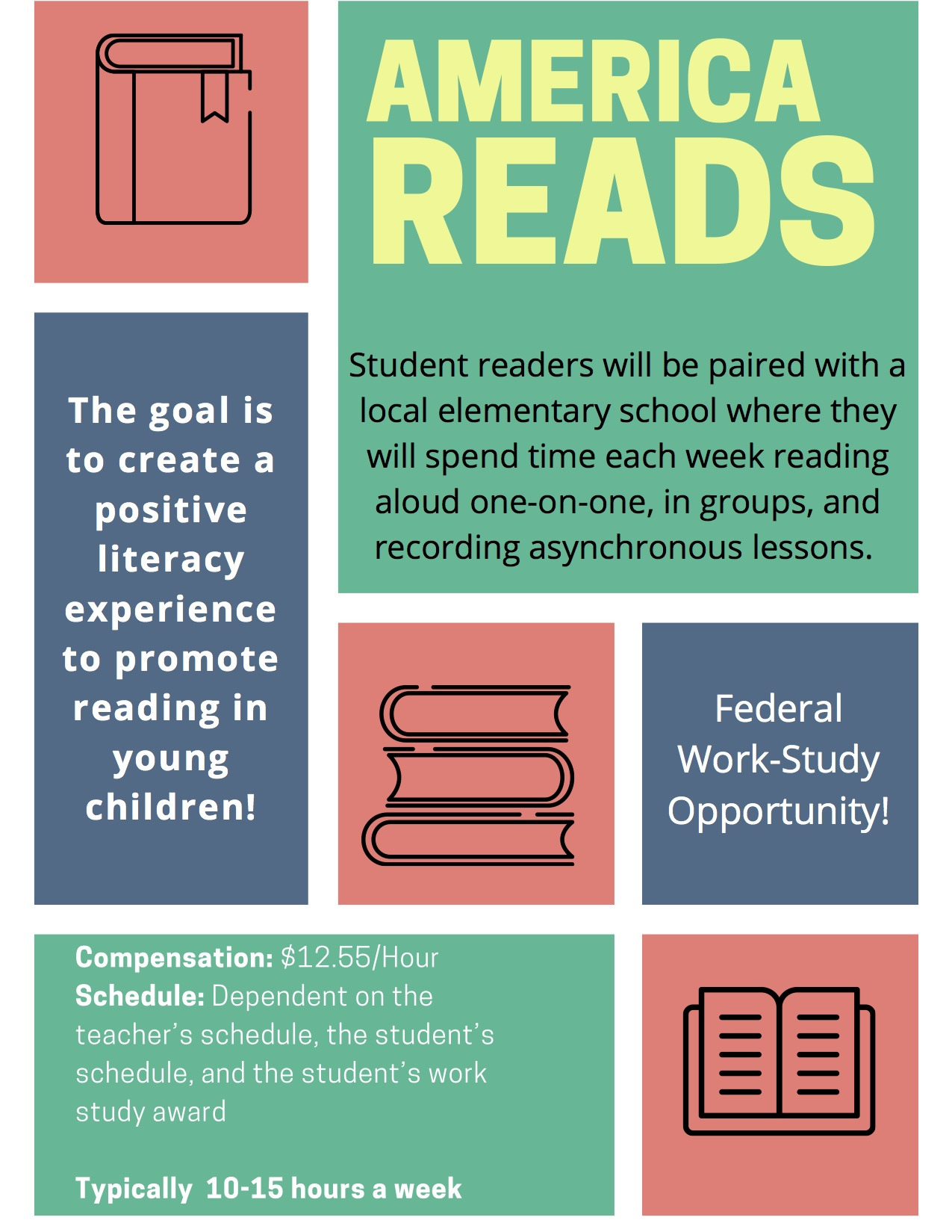 America Reads Flyer 2020