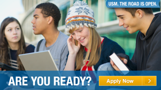 Are you ready to apply to USM?