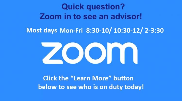 Drop-ins most days 8:30-10am, 10:30am-noon, 2pm-3:30pm  Monday-Friday.  Please click Get Started below.