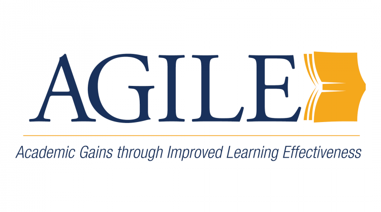 AGILE logo: Academic Gains through Improved Learning Effectiveness
