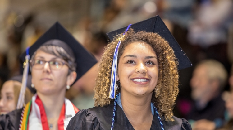 Graduates at Commencement, May 11, 2019