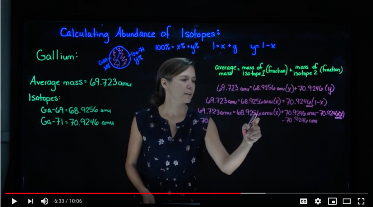 Dr. Luci Benedict Lightboard Video