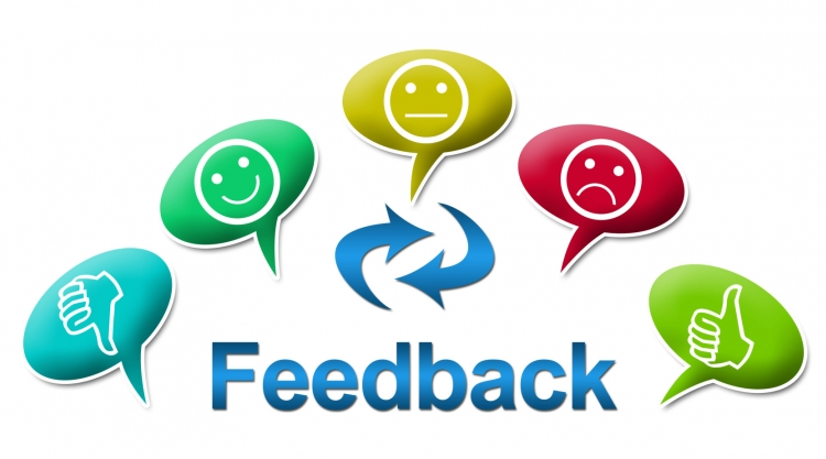 "Image of word ""feedback"""
