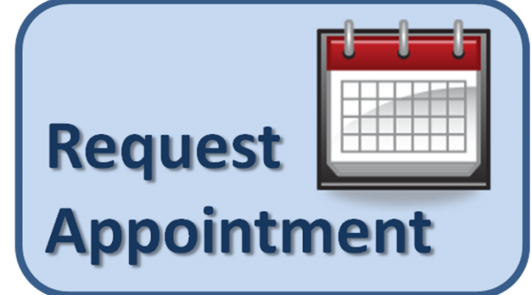 Link to request appointment