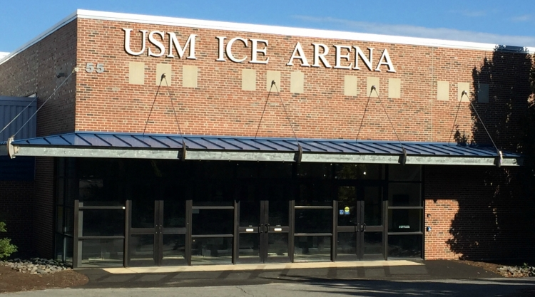 Ice Arena entrance
