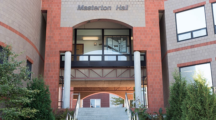 School of Nursing, Masterton Hall, Portland campus