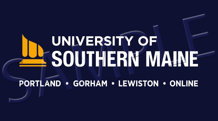 University of Southern Maine sample logo