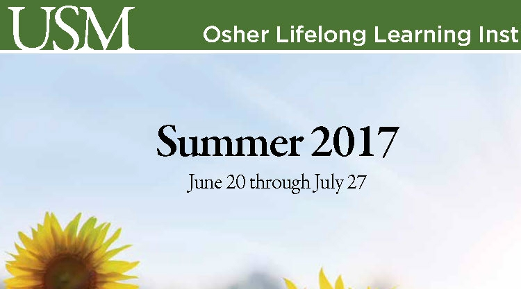 OLLI Summer 2017 Catalog