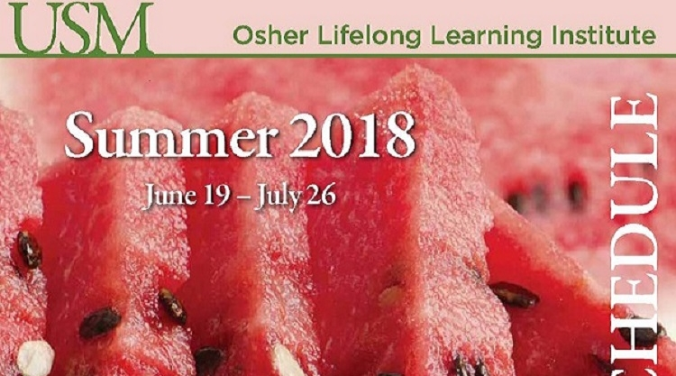 OLLI Summer 2018 Catalog now online