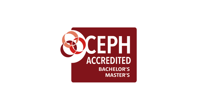 CEPH MPH and BSPH accreditation badge