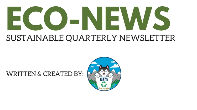 Eco-News:Newsletter for Office of Sustainability