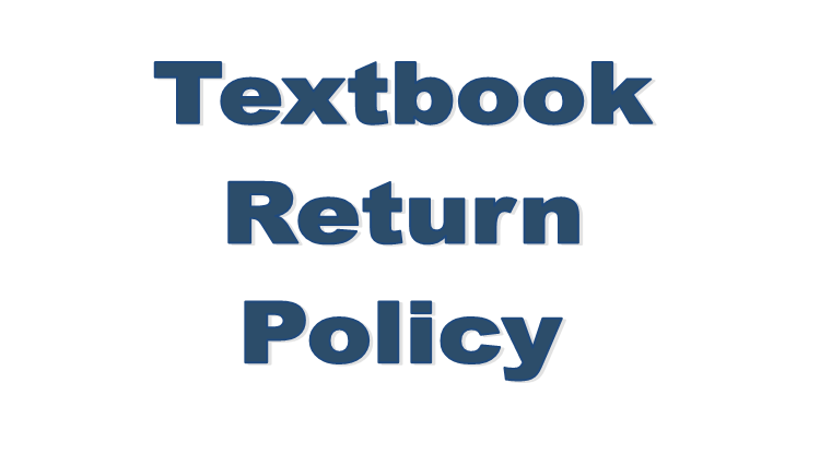 Textbook Return Policy