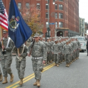 Color Guard leading the way