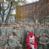 With special guest Crusher from the Maine Red Claws