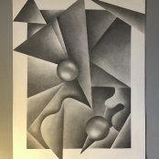 """Drawing, Charcoal, 19""""X24"""""""