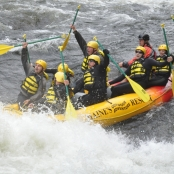 ROCC Peers White Water Rafting