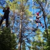 ROCC Stars: Jess and Elliot walk the tight rope