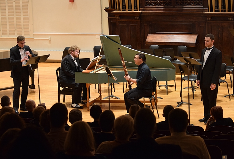 Students perform in Corthell Hall