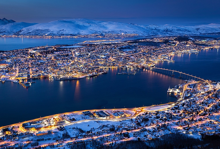 Tromsø, Norway - Photo courtesy Svein-Magne Tunli, tunliweb.no