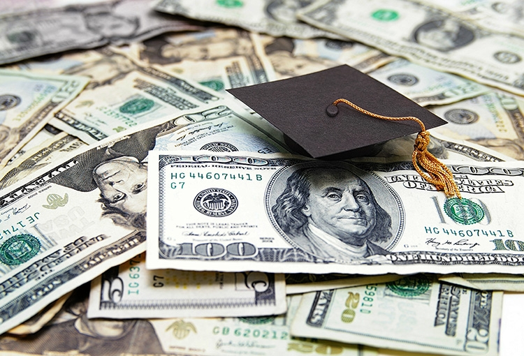 Scholarships, grants, loans, and work study