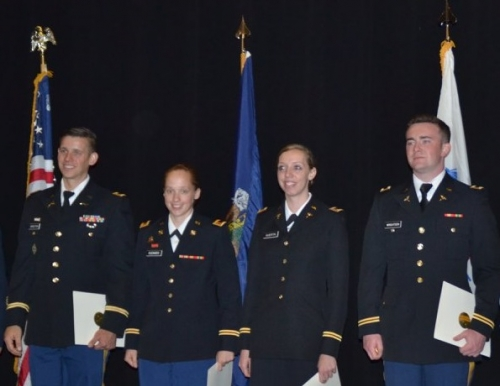 Bravo Company Commissioning Ceremony May 11