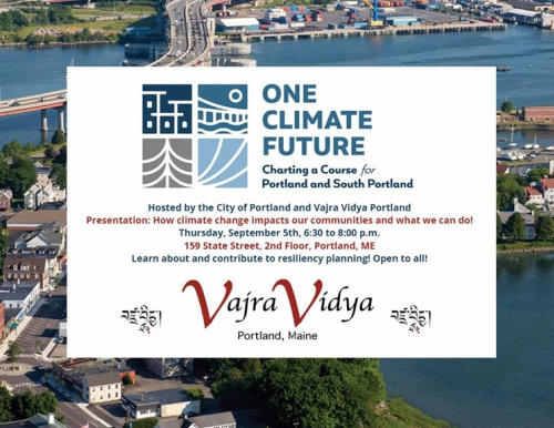 One Climate Future Postcard