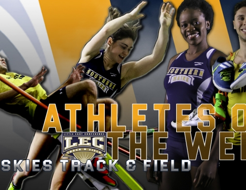 Four USM Track & Field Athletes Recognized by the Little East Conference