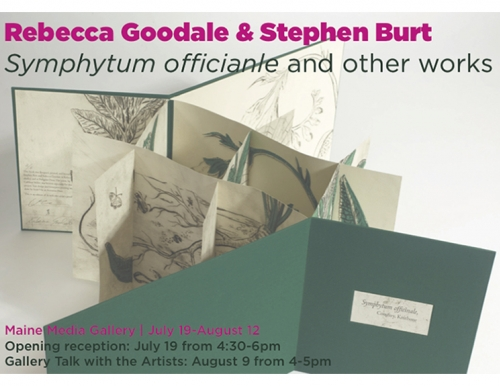 Rebecca Goodale & Stephen Burt: Symphytum Officianle