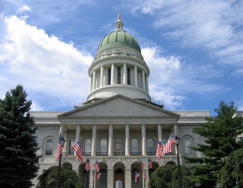 State of Maine Capital building