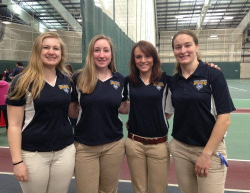 Students volunteer at Special Olympics