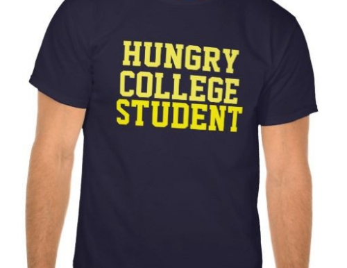 Hungry College Student tshirt