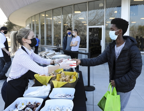 Taste of Normal Barbecue on the Gorham Campus