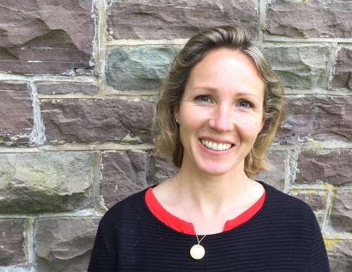 A photo of USM researcher Kate Ahrens