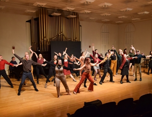 USM musical theatre students