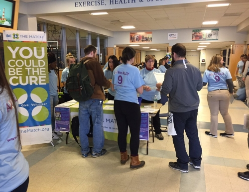 """All for Ally"" bone marrow registry drive at USM"